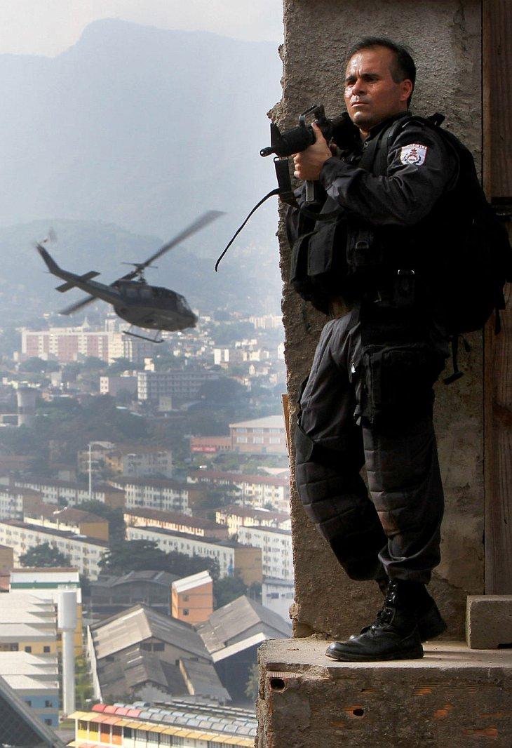 Война с наркомафией в Рио-де-Жанейро