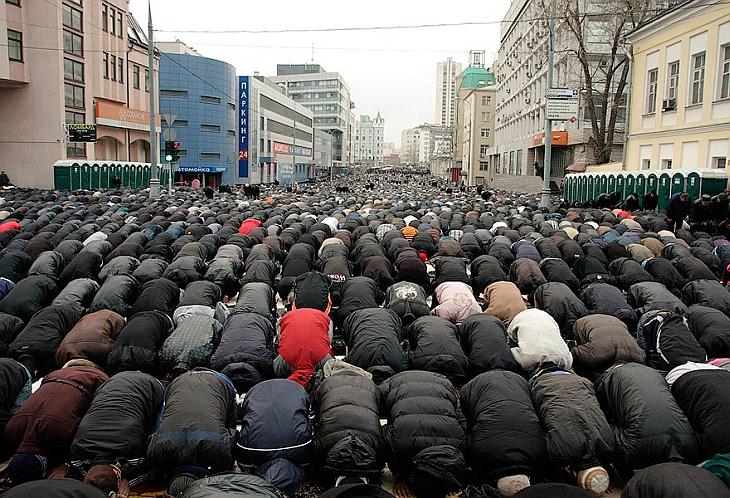 16 ноября 2010, Курбан-Байрам в Москве