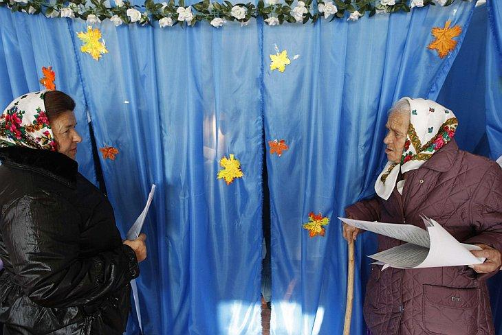 Выборы на Украине 31 октября 2010