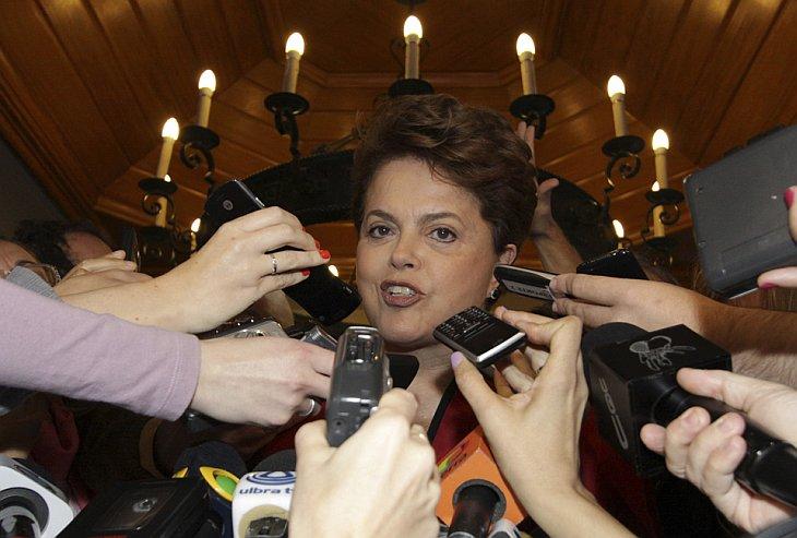 Дилма Руссефф — первая в истории Бразилии женщина-президент
