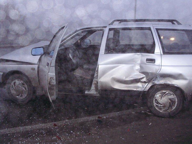 2 ноября 2010  произошло крупное ДТП в Тольятти: столкнулись 40 автомобилей