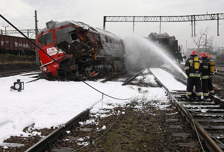 В Польше взорвался поезд