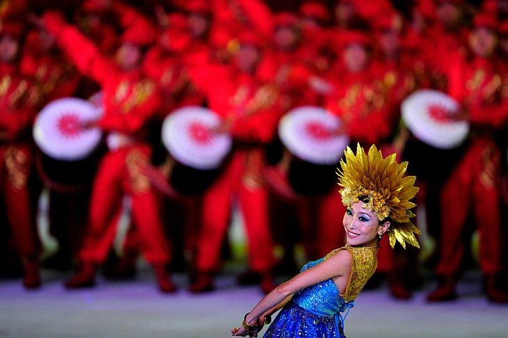 Церемония открытия Азиатских Игр 2010