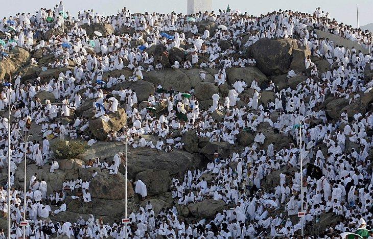 Паломники на горе Арафат