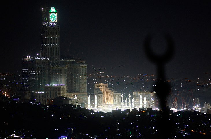 Аль-Масджид аль-Харам («Священная мечеть») в Мекке