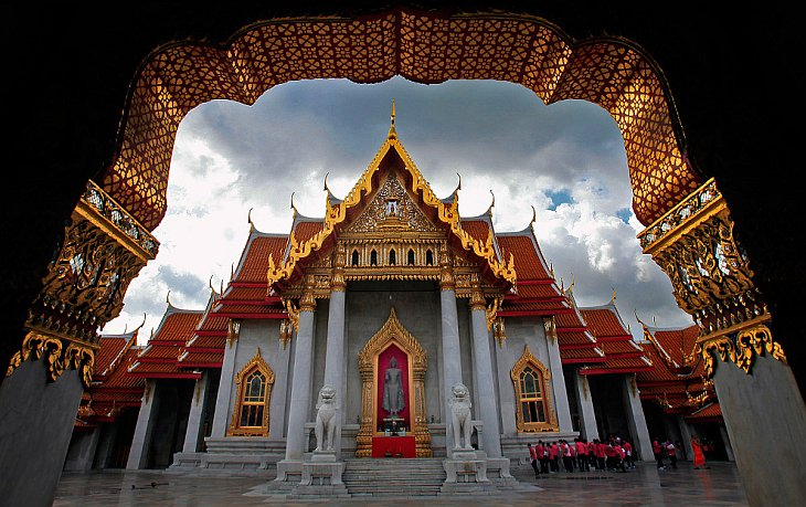 Мраморный храм в Бангкоке
