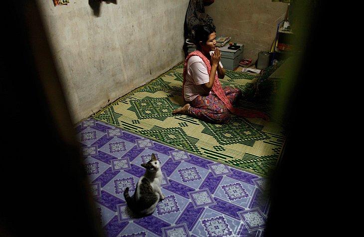 Трудящиеся-мигранты из Мьянмы