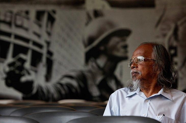 Teerapong Musigasamphan, 73 года — участник массового восстания в 1973  году