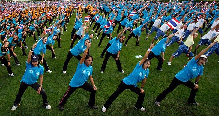 Празднование 78-го дня рождения королевы Таиланда Сирикит