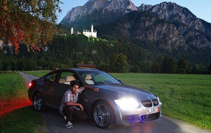 Путешествие на Европе на БМВ