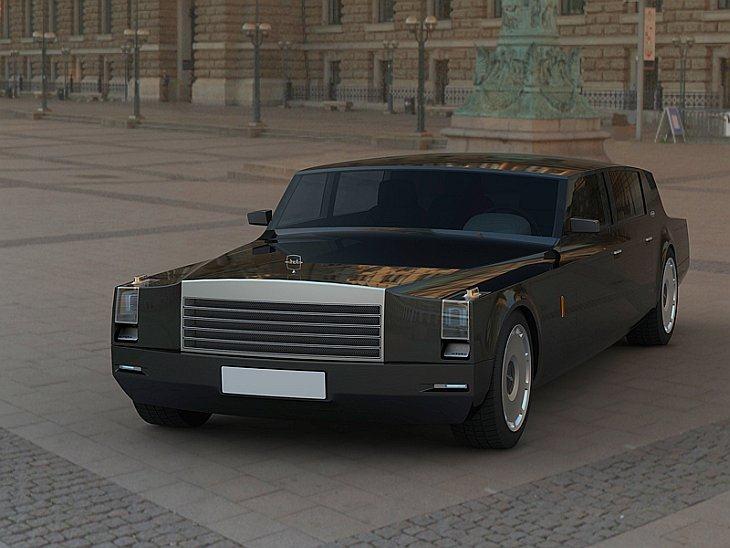 новые авто зил фото концепт кары