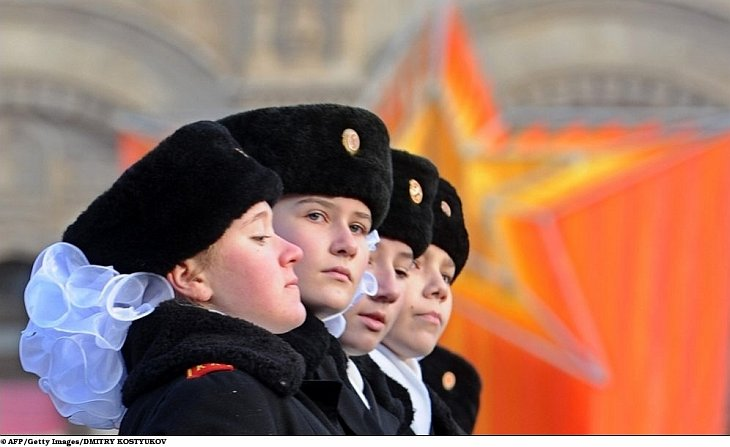 Парад на Красной площади 7 ноября