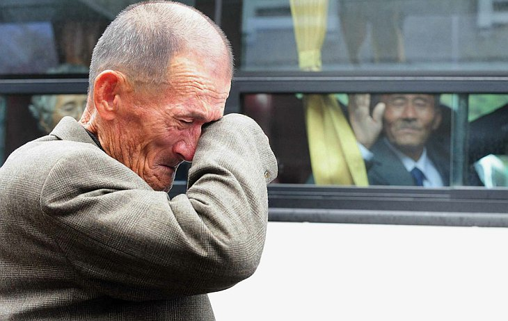 Пожилой житель обстрелянной Южной Кореи