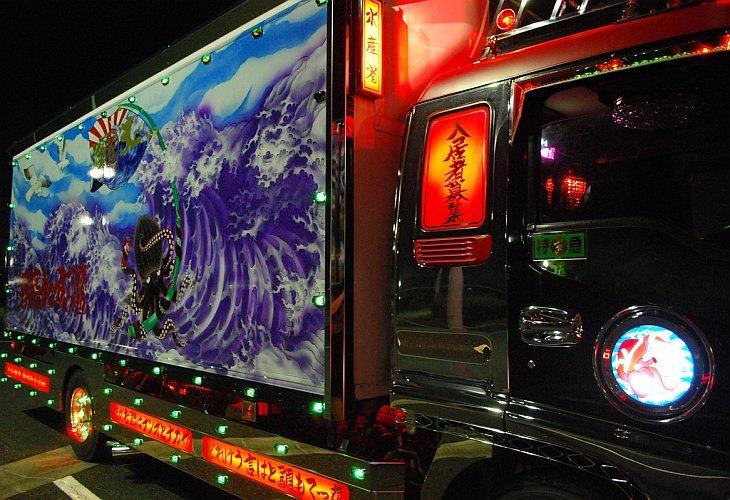 Декотора — японские декорированные грузовики