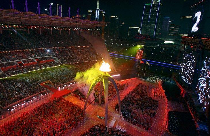 В Китае, в городе Гуанчжоу начались 16-е Азиатские Игры