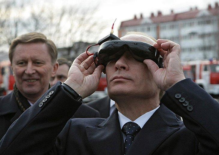 Премьер-министр Путин в Академии гражданской защиты МЧС в Подмосковье