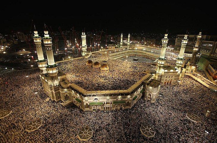 Мечеть Масджид аль-Харам 12 ноября 2010