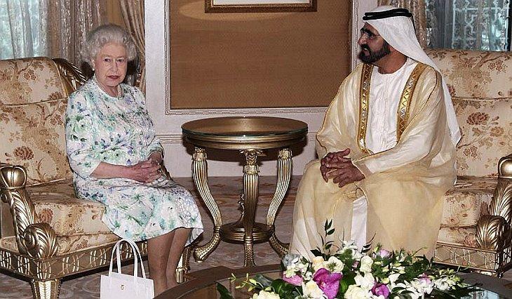 Королева Великобритании Елизавета II прибыла в Объединенные Арабские Эмираты