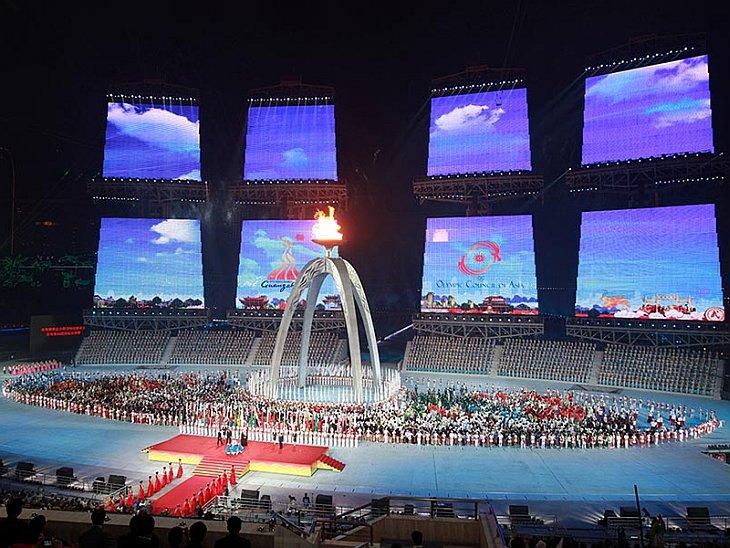 Торжественная церемония закрытия 16-х Азиатских Игр