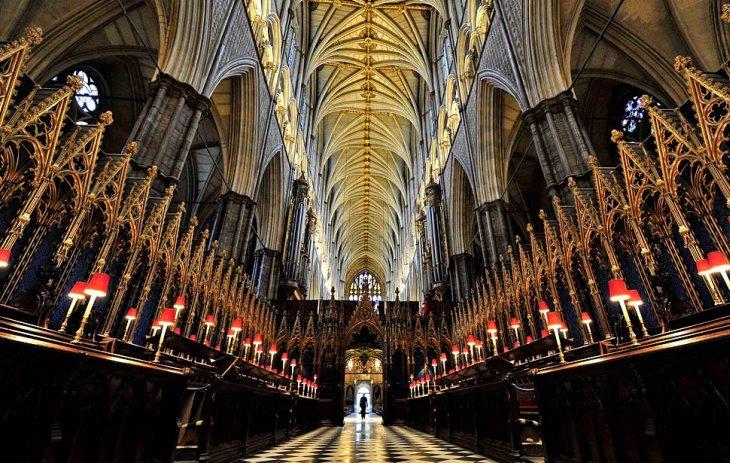 Исторический собор в центральном Лондоне, где 29 апреля 2011 поженятся принц Уильям и Кэт Миддлтон