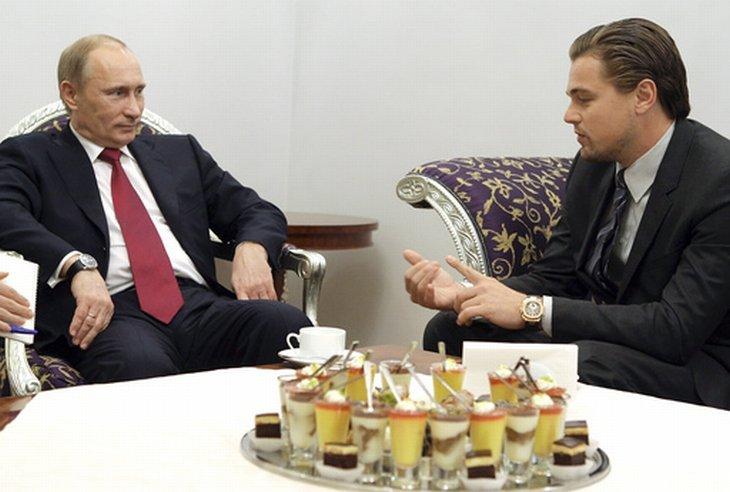 23 ноября 2010 американский актер Леонардо Ди Каприо «прорвался» в Санкт-Петербург на международный Тигриный форум