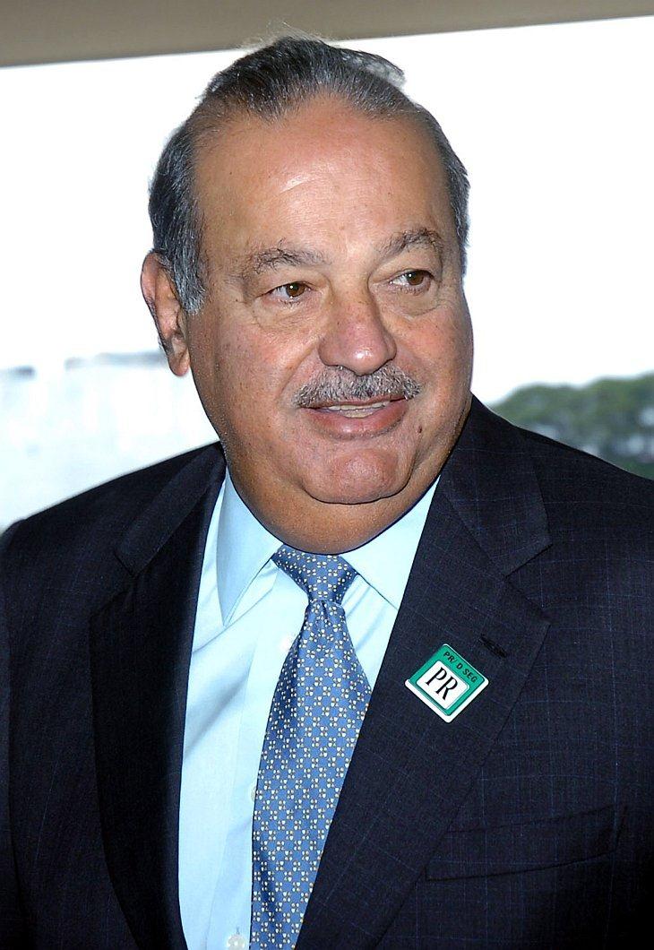 Мексиканский магнат и самый богатый человек мира Карлос Слим