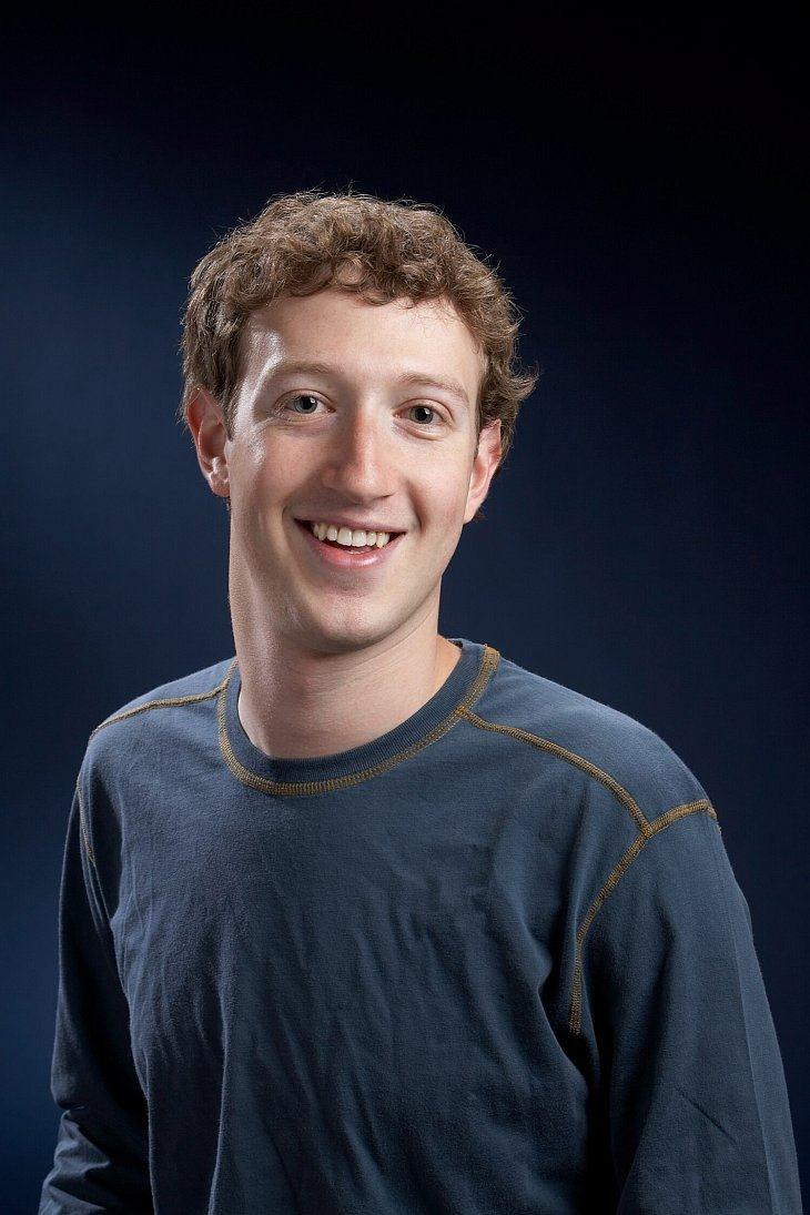 Основатель компании Facebook Марк Цукерберг