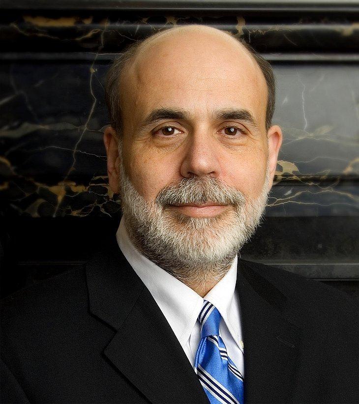 Глава ФРС США Бен Бернанке