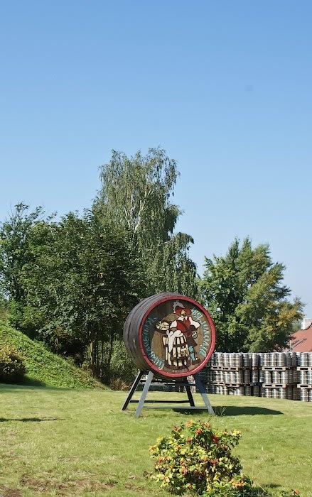 Экскурсия по пивоваренному заводу Krusovice