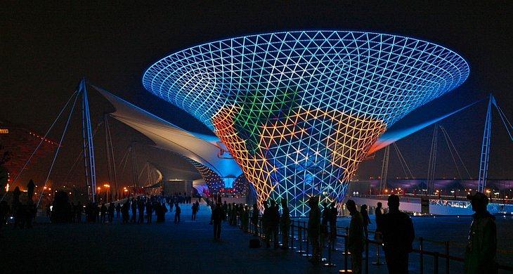 Китайские полицейские на World Expo
