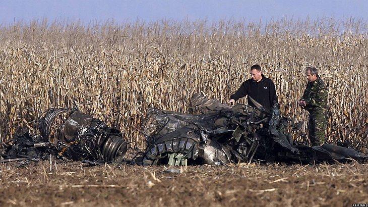 В Румынии потерпел крушение истребитель МиГ-21