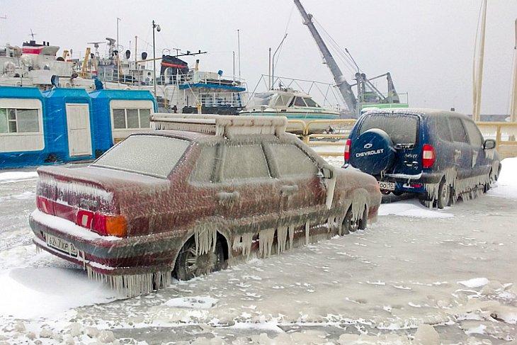 В Петрозаводске началась зима