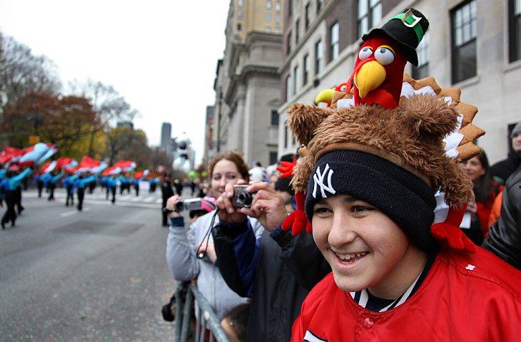 Парад в День Благодарения в Нью-Йорке