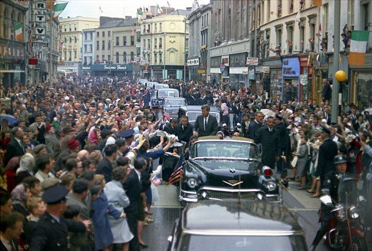 Президент Кеннеди в Корке, Ирландия