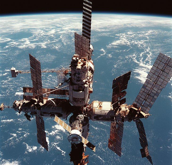 Орбитальной станции «Мир»