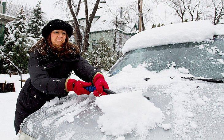 В субботу, 13 ноября в городе Сент-Поле, штат Миннесота выпал первый снег