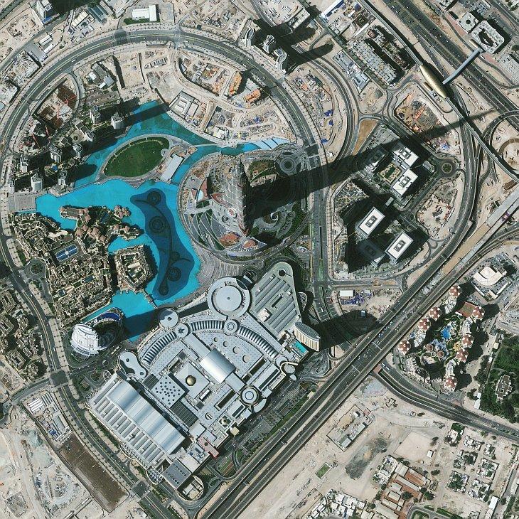 Добро пожаловать в Бурдж Халифа — самое высокое здание в мире высотой 828 м