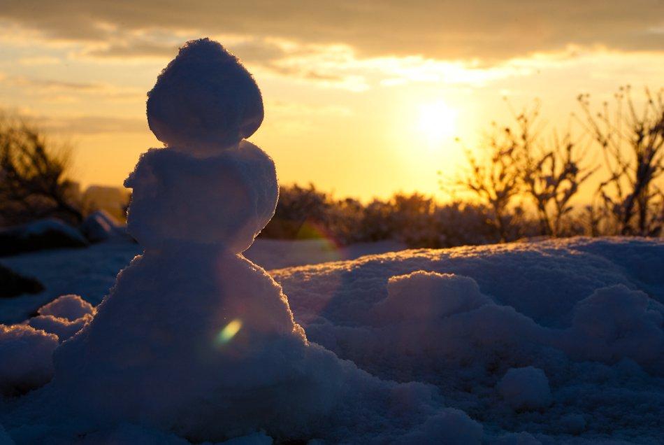 «Снежная» планета