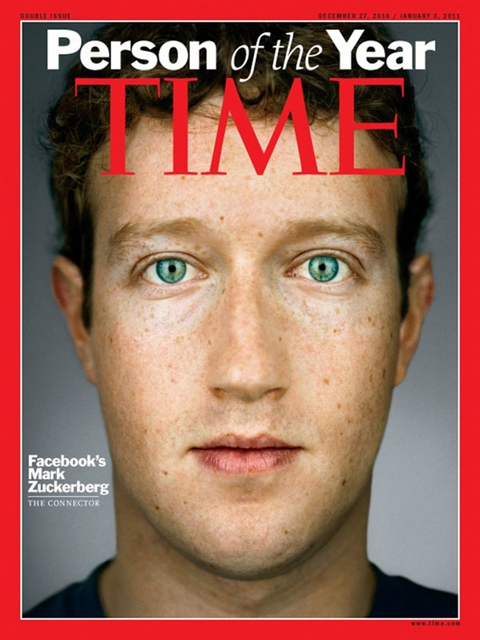 Марк Цукерберг - человек года