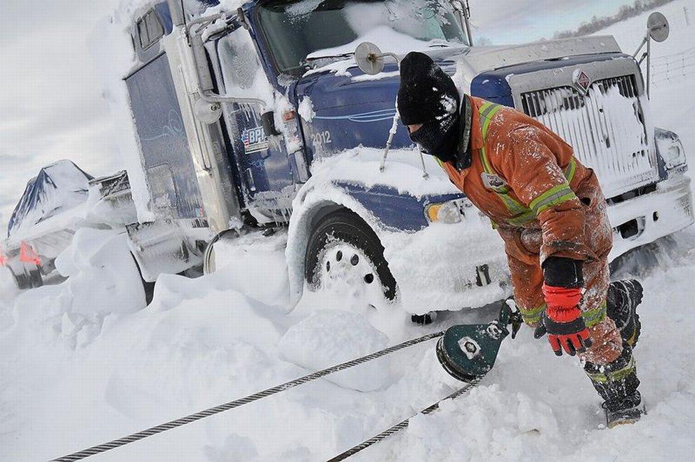 Снежная Буря в Онтарио