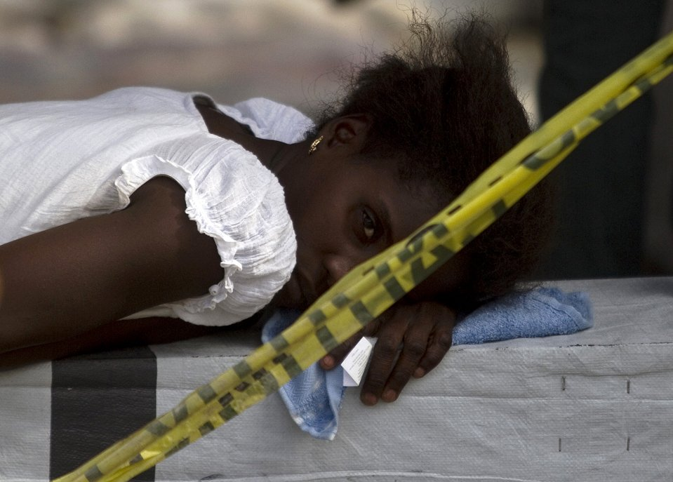 Холера на Гаити