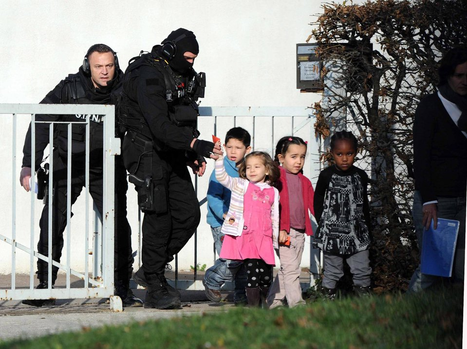 Освобождение заложников во Франции