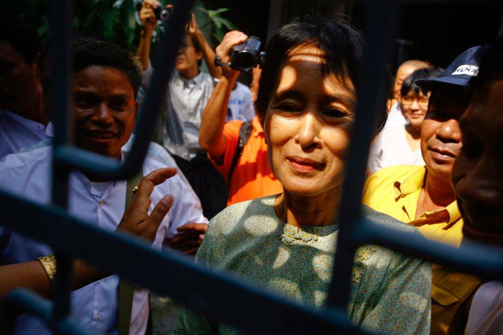 Лидер демократического движения Мьянмы