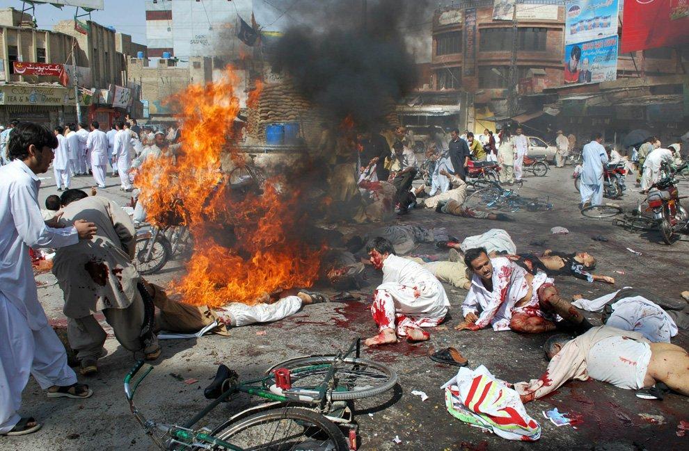 Теракт в городе Кветта