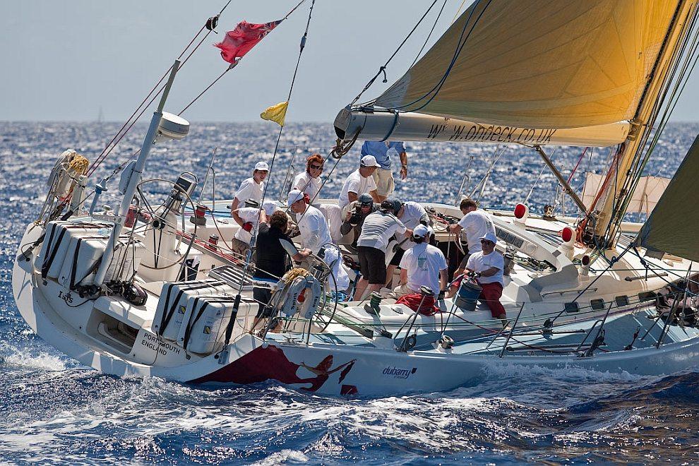 Карибская парусная регата 2010