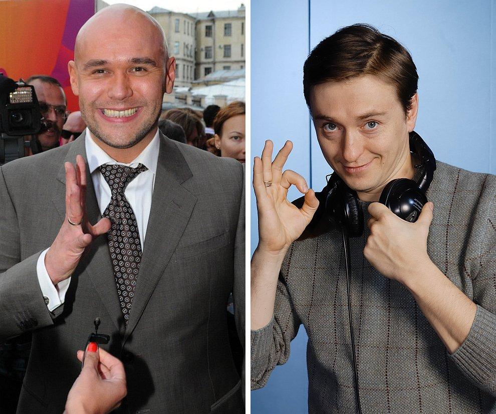 Максим Аверин и Сергей Безруков