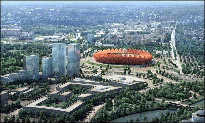 Проекты стадионов чемпионата мира по футболу 2018 в России