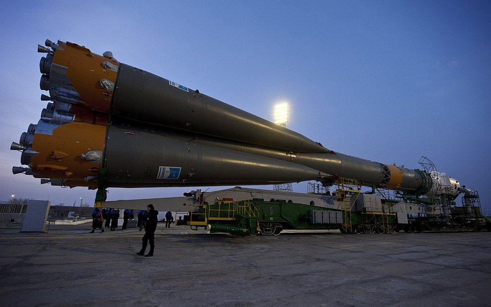К Международной космической станции стартовал космический корабль «Союз ТМА-20»