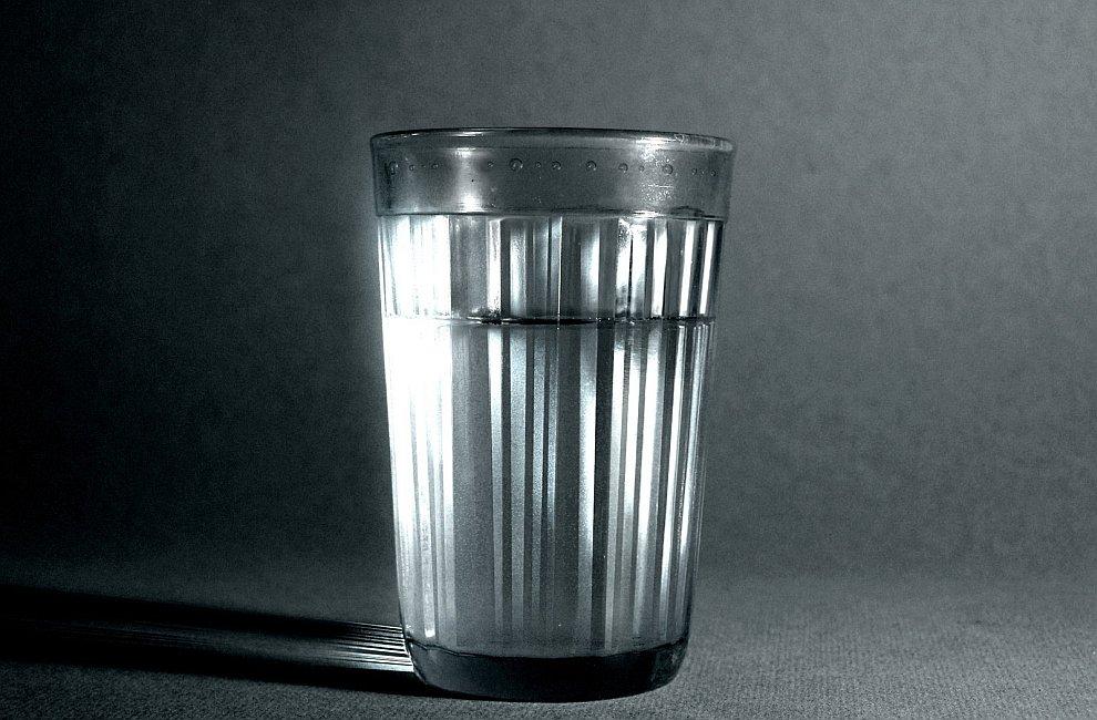 Стакан водки