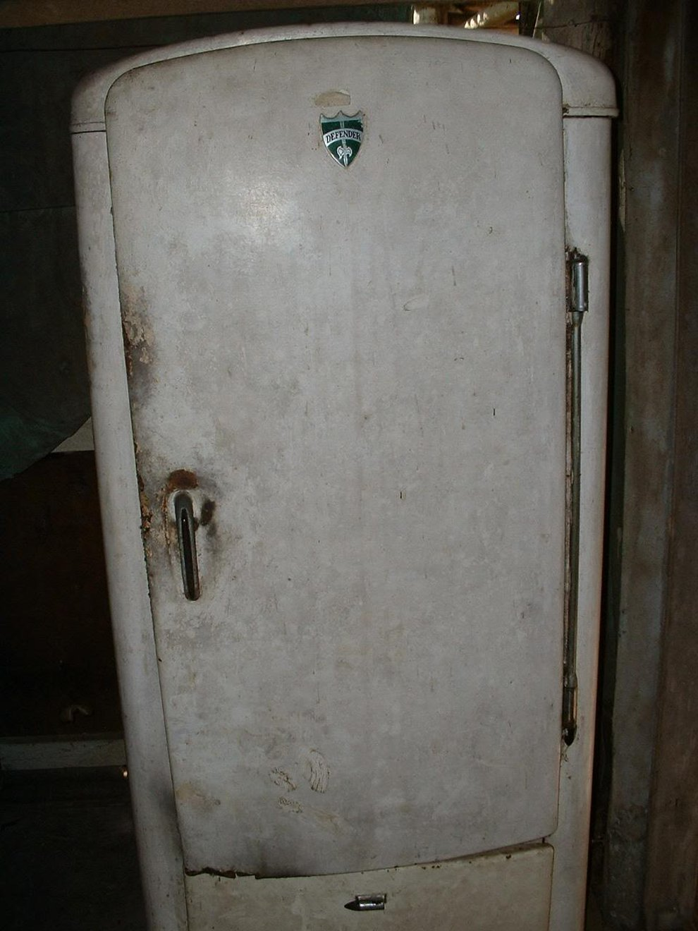 Подержанный холодильник